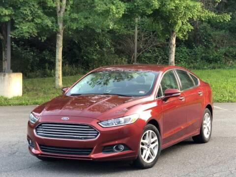 2014 Ford Fusion for sale at Diamond Automobile Exchange in Woodbridge VA