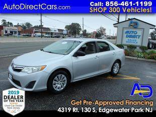 2013 Toyota Camry for sale at Auto Direct Trucks.com in Edgewater Park NJ