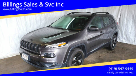 2018 Jeep Cherokee for sale at Billings Sales & Svc Inc in Clyde OH