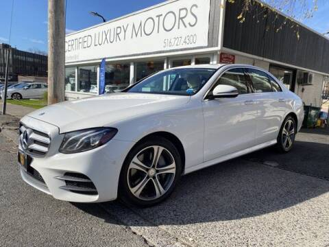 2017 Mercedes-Benz E-Class for sale at Certified Luxury Motors in Great Neck NY