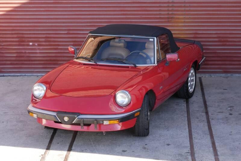 1988 Alfa Romeo Spider for sale at Sierra Classics & Imports in Reno NV