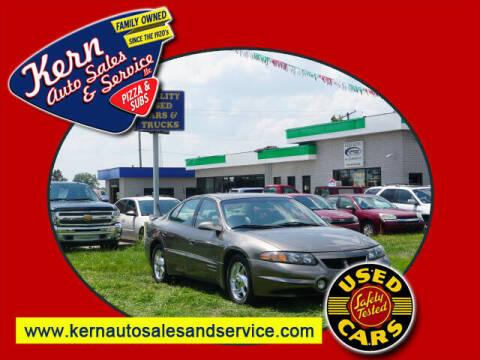 2001 Pontiac Bonneville for sale at Kern Auto Sales & Service LLC in Chelsea MI