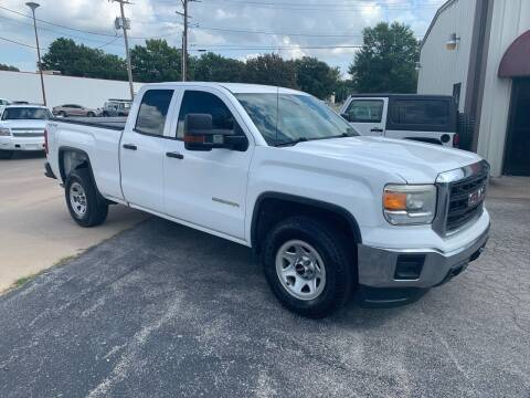 2015 GMC Sierra 1500 for sale at Superior Used Cars LLC in Claremore OK