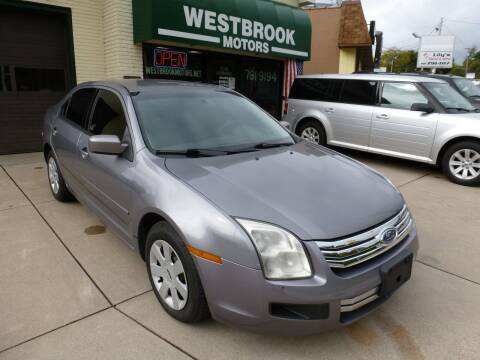 2006 Ford Fusion for sale at Westbrook Motors in Grand Rapids MI