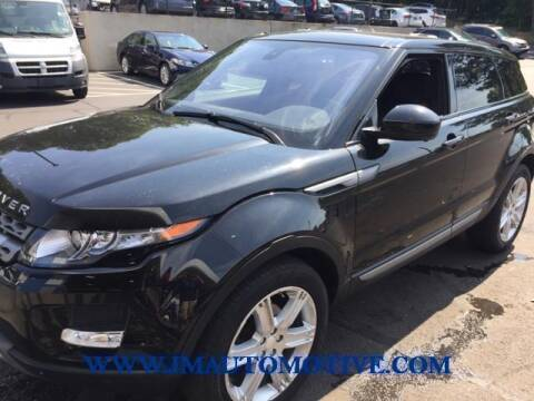 2014 Land Rover Range Rover Evoque for sale at J & M Automotive in Naugatuck CT