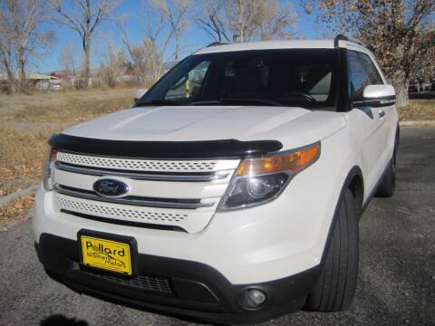 2013 Ford Explorer for sale at Pollard Brothers Motors in Montrose CO