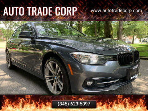 2017 BMW 3 Series for sale at AUTO TRADE CORP in Nanuet NY