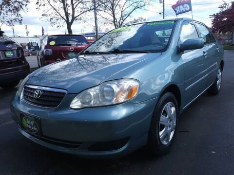 2005 Toyota Corolla for sale at Oak Hill Auto Sales of Wooster, LLC in Wooster OH