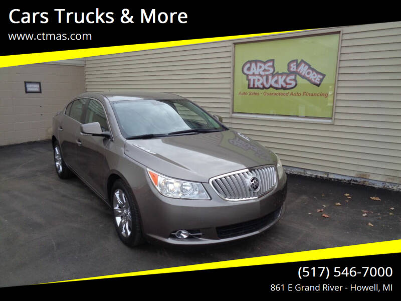 2010 Buick LaCrosse for sale at Cars Trucks & More in Howell MI