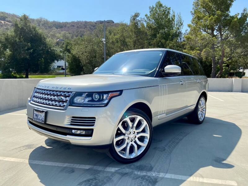 2015 Land Rover Range Rover for sale at Allen Motors, Inc. in Thousand Oaks CA
