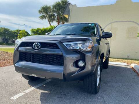 2016 Toyota 4Runner for sale at GERMANY TECH in Boca Raton FL