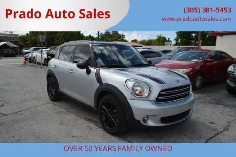 2015 MINI Countryman for sale at Prado Auto Sales in Miami FL