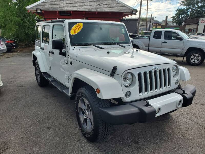 2016 Jeep Wrangler Unlimited for sale at Mass Auto Exchange in Framingham MA