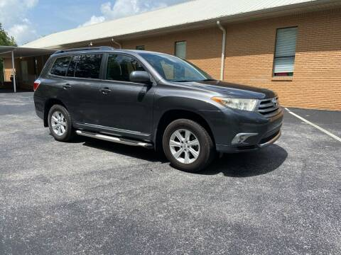 2012 Toyota Highlander for sale at Wheel Tech Motor Vehicle Sales in Maylene AL