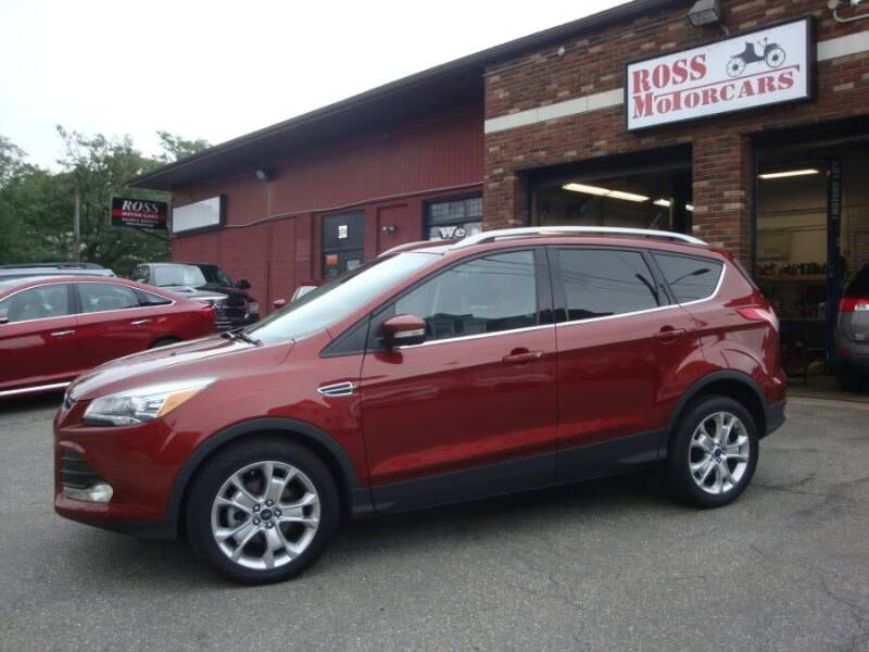 2014 Ford Escape for sale at ROSS MOTOR CARS in Torrington CT