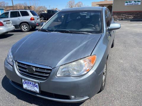 2010 Hyundai Elantra for sale at Creekside Auto Sales in Pocatello ID