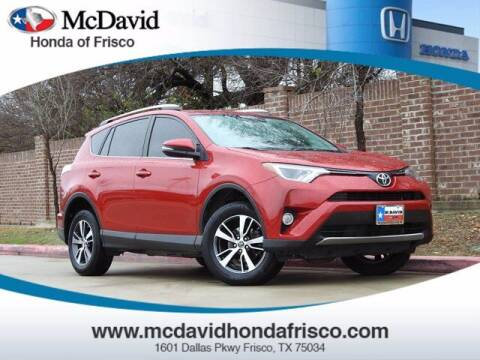 2016 Toyota RAV4 for sale at DAVID McDAVID HONDA OF IRVING in Irving TX