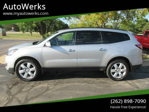 2017 Chevrolet Traverse for sale at AutoWerks in Sturtevant WI
