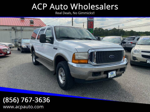 2000 Ford Excursion for sale at ACP Auto Wholesalers in Berlin NJ