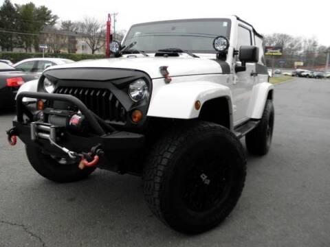 2010 Jeep Wrangler for sale at DMV Auto Group in Falls Church VA