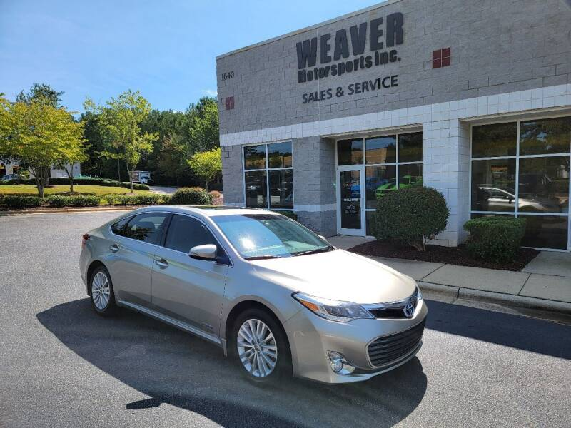 2013 Toyota Avalon Hybrid for sale at Weaver Motorsports Inc in Cary NC