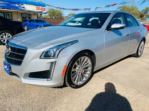 2014 Cadillac CTS for sale at California Auto Sales in Amarillo TX