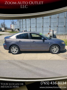 2008 Mazda MAZDA3 for sale at Zoom Auto Outlet LLC in Thorntown IN