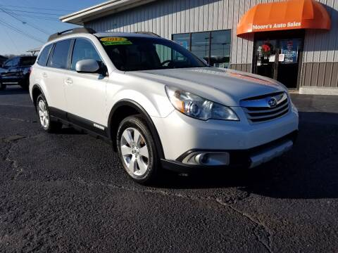 2012 Subaru Outback for sale at Moores Auto Sales in Greeneville TN