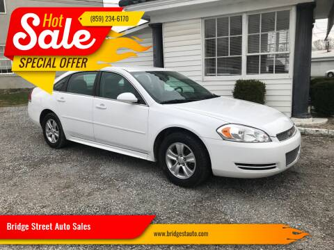 2012 Chevrolet Impala for sale at Bridge Street Auto Sales in Cynthiana KY
