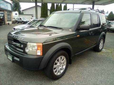 2006 Land Rover LR3 for sale at Payless Car & Truck Sales in Mount Vernon WA