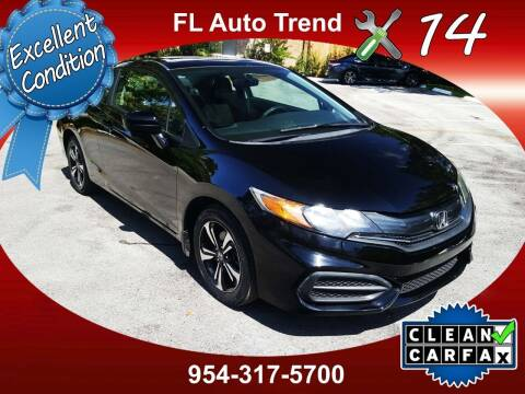 2015 Honda Civic for sale at Florida Auto Trend in Plantation FL