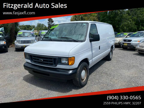 2003 Ford E-Series Cargo for sale at Fitzgerald Auto Sales in Jacksonville FL