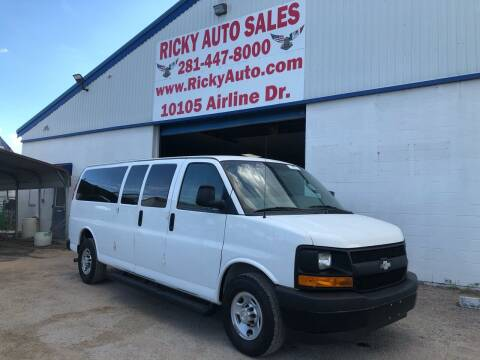 2017 Chevrolet Express Passenger for sale at Ricky Auto Sales in Houston TX
