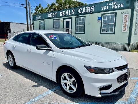 2016 Chevrolet Malibu for sale at Best Deals Cars Inc in Fort Myers FL
