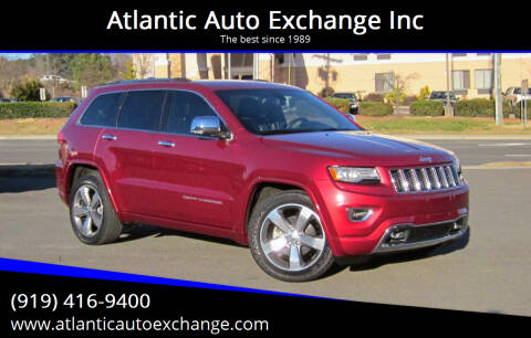 2014 Jeep Grand Cherokee for sale at Atlantic Auto Exchange Inc in Durham NC