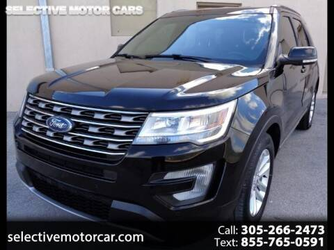 2017 Ford Explorer for sale at Selective Motor Cars in Miami FL