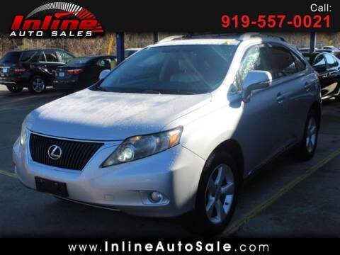 2011 Lexus RX 350 for sale at Inline Auto Sales in Fuquay Varina NC