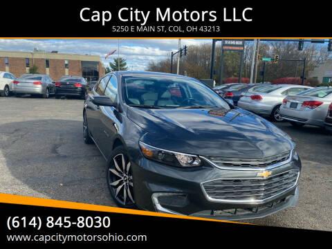 2016 Chevrolet Malibu for sale at Cap City Motors LLC in Columbus OH