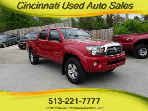 2010 Toyota Tacoma for sale at Cincinnati Used Auto Sales in Cincinnati OH