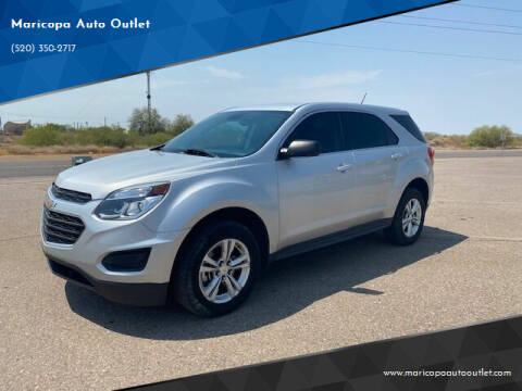 2017 Chevrolet Equinox for sale at Maricopa Auto Outlet in Maricopa AZ