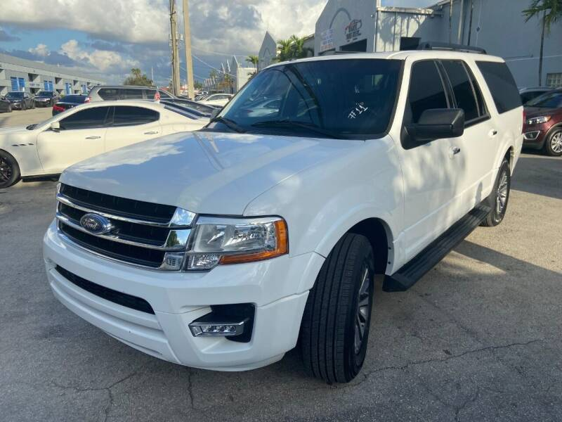 2017 Ford Expedition EL for sale at Ven-Usa Autosales Inc in Miami FL