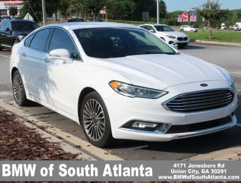 2017 Ford Fusion for sale at Carol Benner @ BMW of South Atlanta in Union City GA