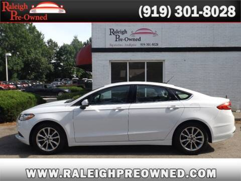 2017 Ford Fusion for sale at Raleigh Pre-Owned in Raleigh NC