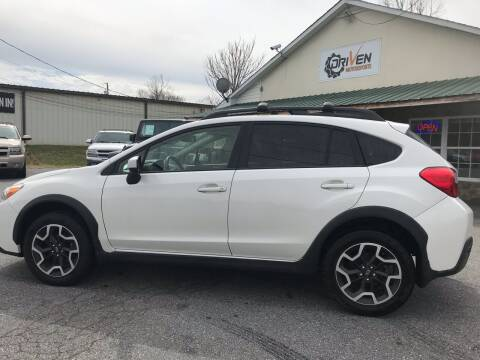 2017 Subaru Crosstrek for sale at Driven Pre-Owned in Lenoir NC
