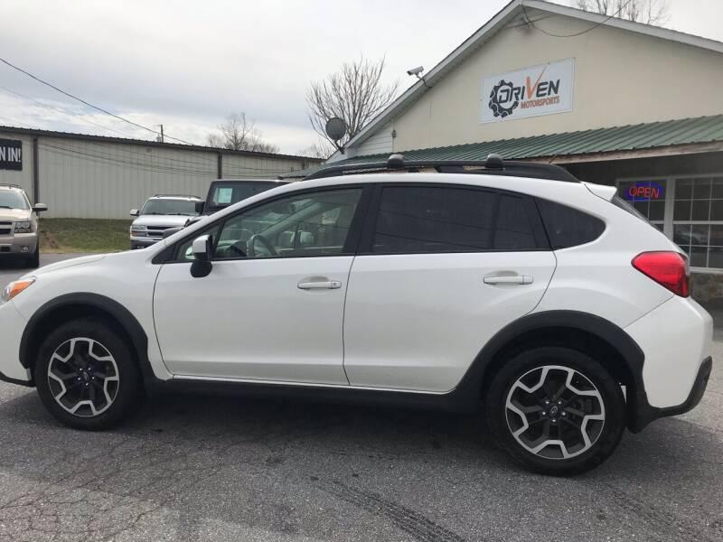 2017 Subaru Crosstrek for sale at Driven Pre-Owned in Lenoir NC