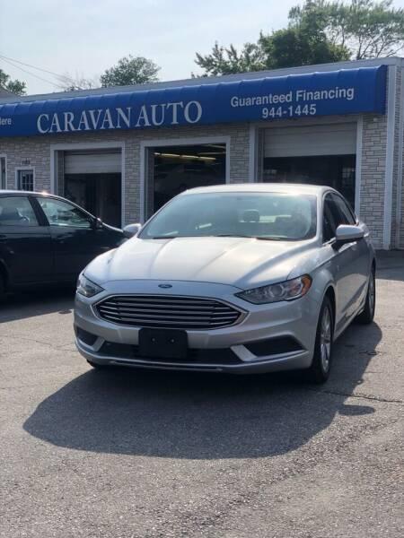 2017 Ford Fusion for sale at Caravan Auto in Cranston RI