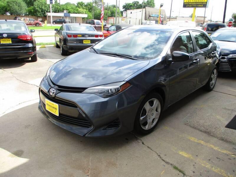 2018 Toyota Corolla for sale at Metroplex Motors Inc. in Houston TX