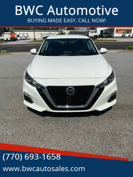 2020 Nissan Altima for sale at BWC Automotive in Kennesaw GA
