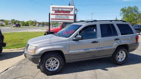 2002 Jeep Grand Cherokee for sale at Downing Auto Sales in Des Moines IA