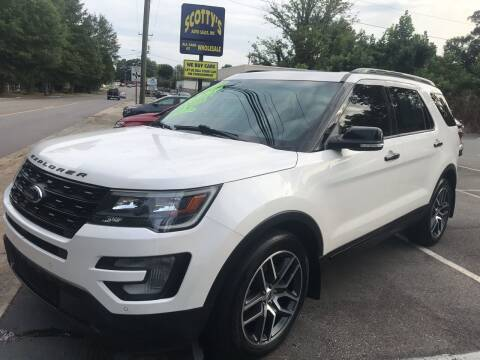 2016 Ford Explorer for sale at Scotty's Auto Sales, Inc. in Elkin NC